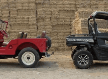 Willys Jeep vs JD Gator