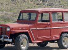 61 Willys Jeep Wagon