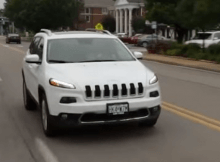 Jeep Remotely controlled