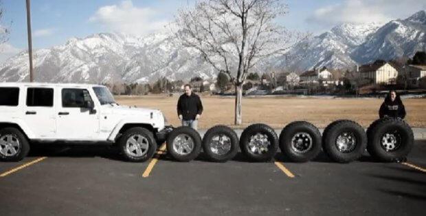 Jeep JK Tires