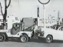 Willys Jeep Towtruck
