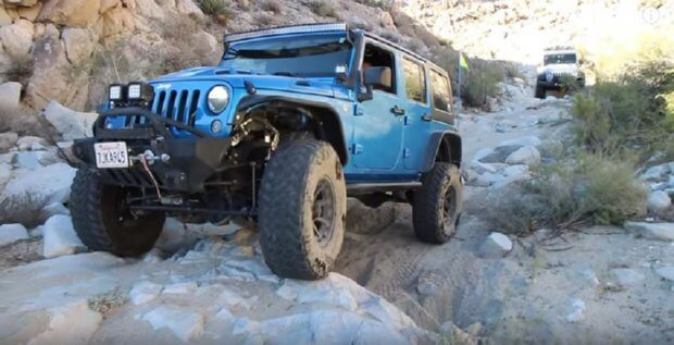 Modified Jeep Wrangler