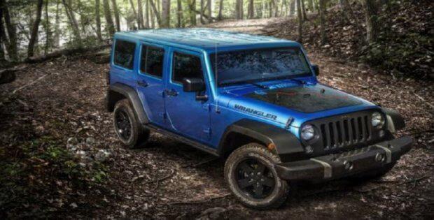Jeep Wrangler Black Bear