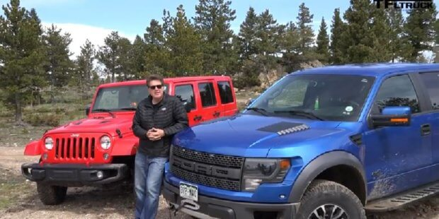 Wrangler vs Raptor