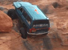 Jeep Extreme Rock Climb