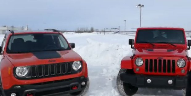 2015 Jeep Renegade Trailhawk Vs Wrangler Off Road Review All