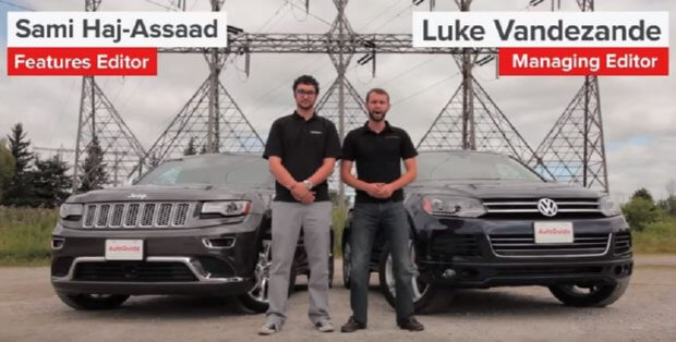 Grand Cherokee Vs Vw Touareg Review All About Jeeps Early To