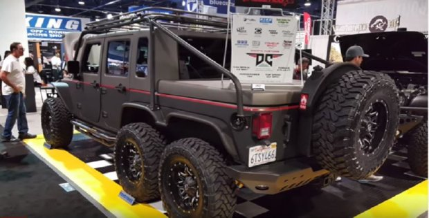 6WD Jeep Wrangler