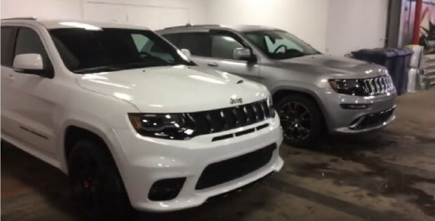 jeep srt 2017 vs 2016 model compare - all about jeeps, early to