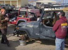 Junkyard Jeep