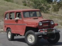 Willys on Jeep Chassis
